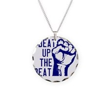 beatUpTheBeat_tshirt_light Necklace