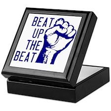 beatUpTheBeat_tshirt_light Keepsake Box