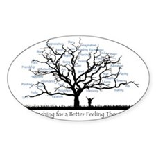 Reaching for a better feeling thoug Decal