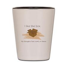 The Box Shot Glass