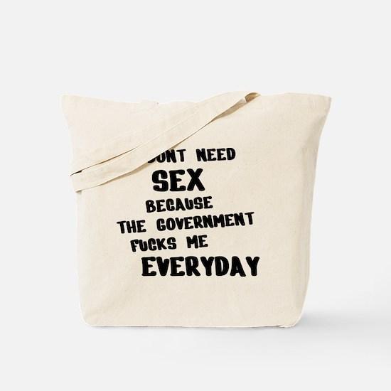 I dont need Tote Bag