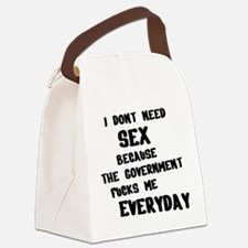 I dont need Canvas Lunch Bag