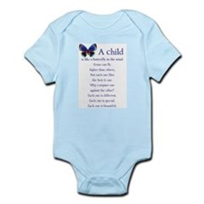 A Child is Like a Butterfly - Infant Bodysuit