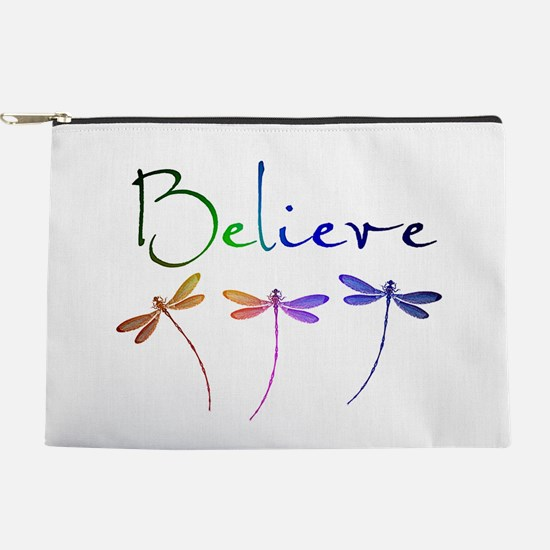 Believe...dragonflies Makeup Pouch