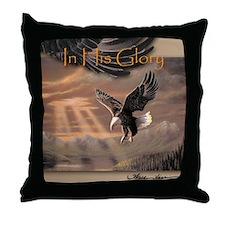 "Eagle ""In His Glory"" Fine Art Eagle Pillow"