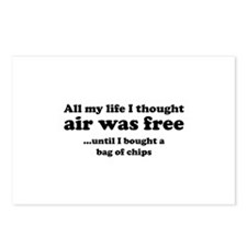 All my life I thought air was free Postcards (Pack