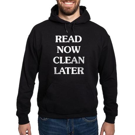 Read Now Hoodie (dark)