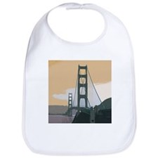 Cute Golden gate Bib
