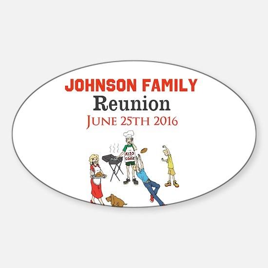 Custom Family Renion BBQ Decal