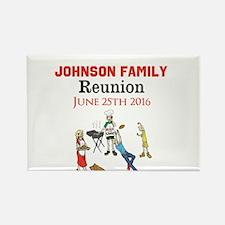 Custom Family Renion BBQ Magnets