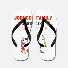 Custom Family Renion BBQ Flip Flops