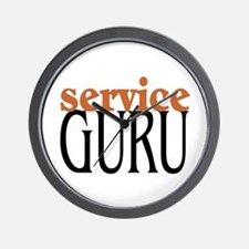 Service Guru Wall Clock