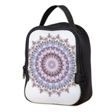 Purple Vintage mandala kaleidoscope Neoprene Lunch