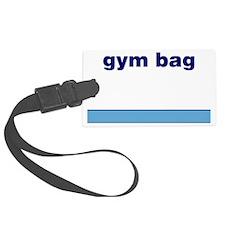 Generic-Gym-Bag Luggage Tag