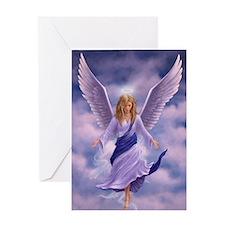 Cool Angel wings Greeting Card