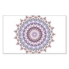 Purple Vintage mandala kaleidoscope Decal
