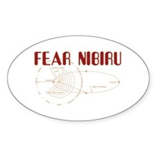 Fear Nibiru Oval Decal