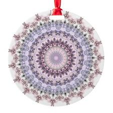 Purple Vintage mandala kaleidoscope Ornament