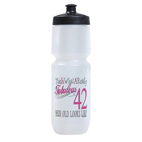 Fabulous 42yearold.png Sports Bottle