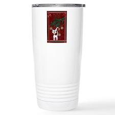 Handmade Kitty Jingle Christm Travel Mug