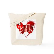 Anahita red shihtzu for valentine Tote Bag