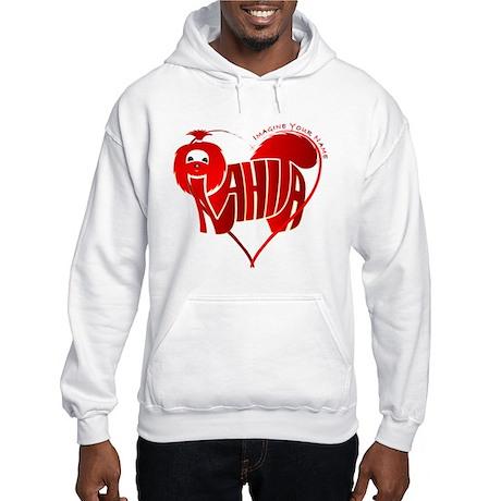 Anahita red shihtzu for valentine Hooded Sweatshir