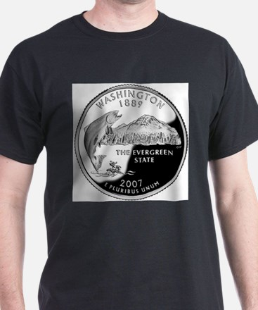 Washington State Quarter T-Shirt
