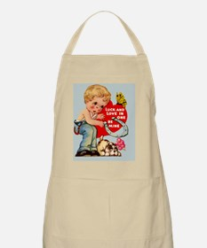 VAL-boy-luck Apron
