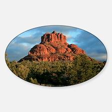 bell rock2 Sticker (Oval)