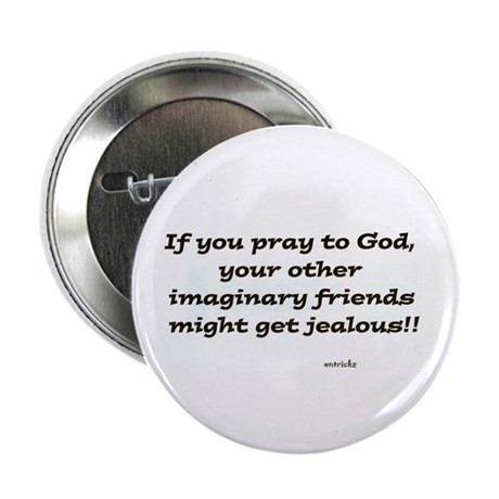 """Imaginary Friends 2.25"""" Button (100 pack)"""