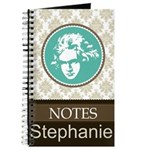 Personalized Music Padfolio Notes Journal