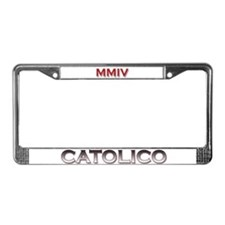 """Cuadro de Placas """"Catolico MMIV"""" 2004 Años"""