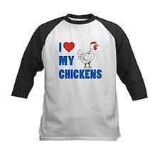 I Love Chickens Baseball Jersey