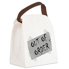 Out of Order Canvas Lunch Bag