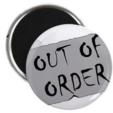 Out of Order Magnet