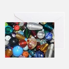 Full of Beads Greeting Card