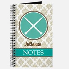 Personalized Clarinet Music Gift Journal