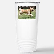 RunCardMerge Thermos Mug