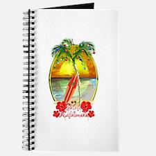 Mele Kalikimaka Surfboard Journal