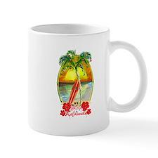 Mele Kalikimaka Surfboard Mugs
