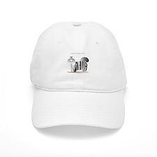 Anahita black and white shihtzu Baseball Cap