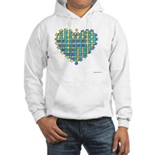 Woven Heart 10x10_all Hoodie
