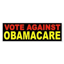 OBAMACARE VOTE AGAINST_001 Bumper Bumper Sticker