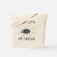 Creepy & Cute Spider Tote Bag
