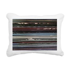 For the Record Rectangular Canvas Pillow