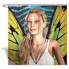 Sunny Fairy Shower Curtain