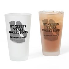 National Guard Aunt Nephew wears CB Drinking Glass