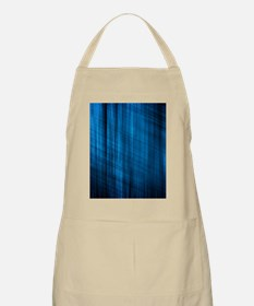 futuristic abstract blue geometric pattern Apron