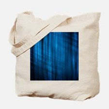 futuristic abstract blue geometric patter Tote Bag