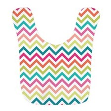 Colorful Zig Zags Bib